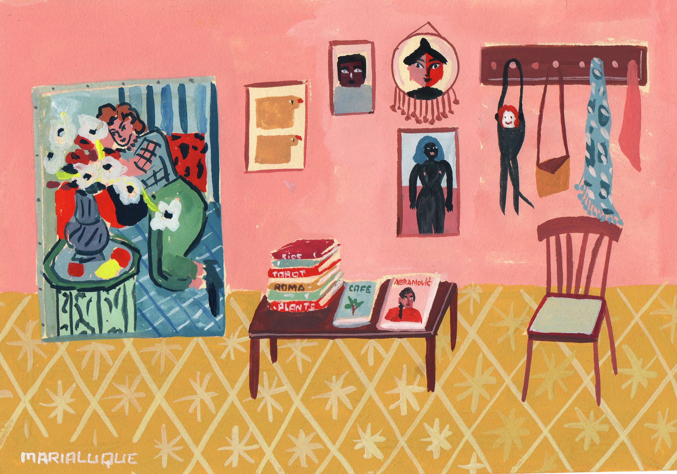 Ilustraciones por María Luque